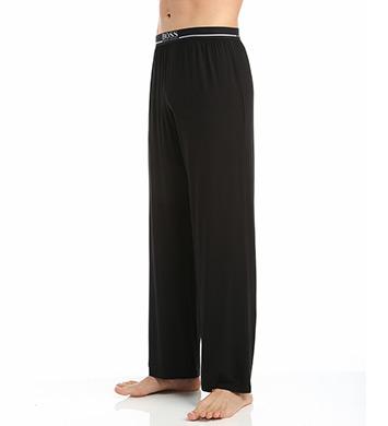 887c6fe48 UPC 704349763205 product image for Boss Hugo Boss 0297319 Micromodal  Stretch Comfort Long Pant (Black ...