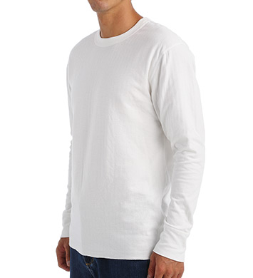 eea65379 UPC 043935435912 product image for Champion KMW1 Men's Original Mid Weight  Wicking Crew Neck Top ...