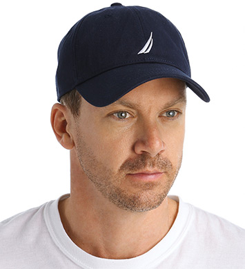 181db1e01a6 ... UPC 618935983703 product image for Nautica H71055 100% Cotton Twill  Chino Hat (Navy O ...