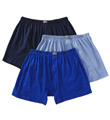 2xist Essentials 100% Cotton Knit Boxers - 3 Pack 20307