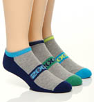 2xist No Show Sport Socks - 3 Pack 24V03