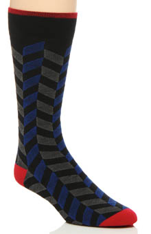 2xist Neo Herringbone Cotton Dress Socks 4V03