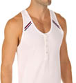 2xist Athletic Range Button Tank Top 619603