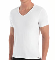 Blackspade Mood Cotton Modal V-neck T-shirt 9321
