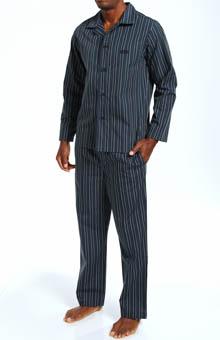 Boss Hugo Boss Innovation 2 Long Woven Pajama Set Gift Box 0210447