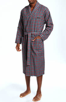 Boss Hugo Boss Innovation 5 Shawl Collar Flannel Robe 0254190