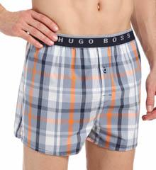 Boss Hugo Boss Plaid Woven Boxer Short 0260826