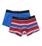 Boxer FN Cotton Stretch Print Trunks - 2 Pack Image