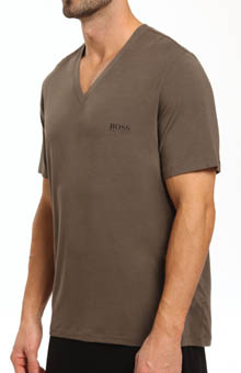 Boss Hugo Boss Innovation 2 Shortsleeve Modal V-Neck T-Shirt 214175