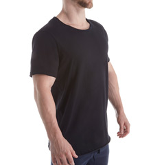 Bread and Boxers Loose Crew Neck Organic Cotton T-Shirt BNBUS103