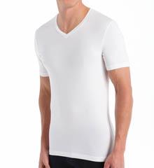 Bread and Boxers V-Neck Cotton Blend T-Shirt BNBUS107