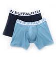 Buffalo David Bitton Cotton Stretch Boxer Brief - 2 Pack BD10510