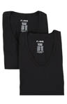 Baseflex High V-Neck T-Shirt - 2 Pack Image