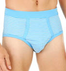 Striped Midislip Brief Image