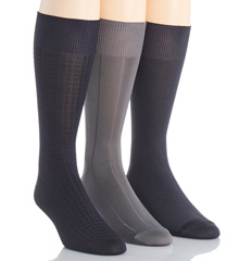 Calvin Klein A91149 Calvin Klein Microfiber Assorted Pack Sock at Sears.com