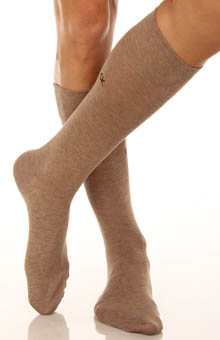 Calvin Klein A91294 Luxurious Flat Knit Socks