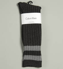 Calvin Klein ACK233 Duo-Stripe Slouch Casual Sock at Sears.com