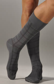 Calvin Klein ACP174 Microfiber Dress Sock 3 Pack
