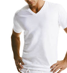 Calvin Klein M9065 Short Sleeve V-Neck T-Shirt 3 Pack
