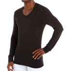 THRML Long Sleeve U-Neck Shirt Image