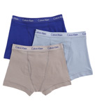 Cotton Stretch Trunks - 3 Pack Image