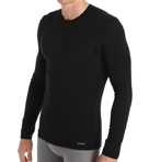 Micro Modal Long Sleeve Crew Neck Top Image
