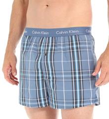 Calvin Klein Woven Slim Fit Boxer U1513
