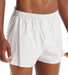 Calvin Klein Classic 100% Cotton Woven Boxer - 3 Pack U1732