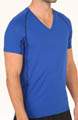 Athletic Performance Mesh V-Neck T-Shirt Image