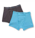 Cotton Stretch Trunks - 2 Pack Image