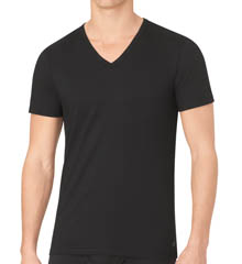 Calvin Klein Body Slim Short Sleeve V-neck T-Shirts - 3 Pack U4072