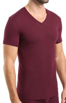 Calvin Klein Micro Modal Short Sleeve V-Neck T-Shirt U5563F