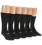Double Dry Performance Athletic Crew Sock - 6 Pack Image