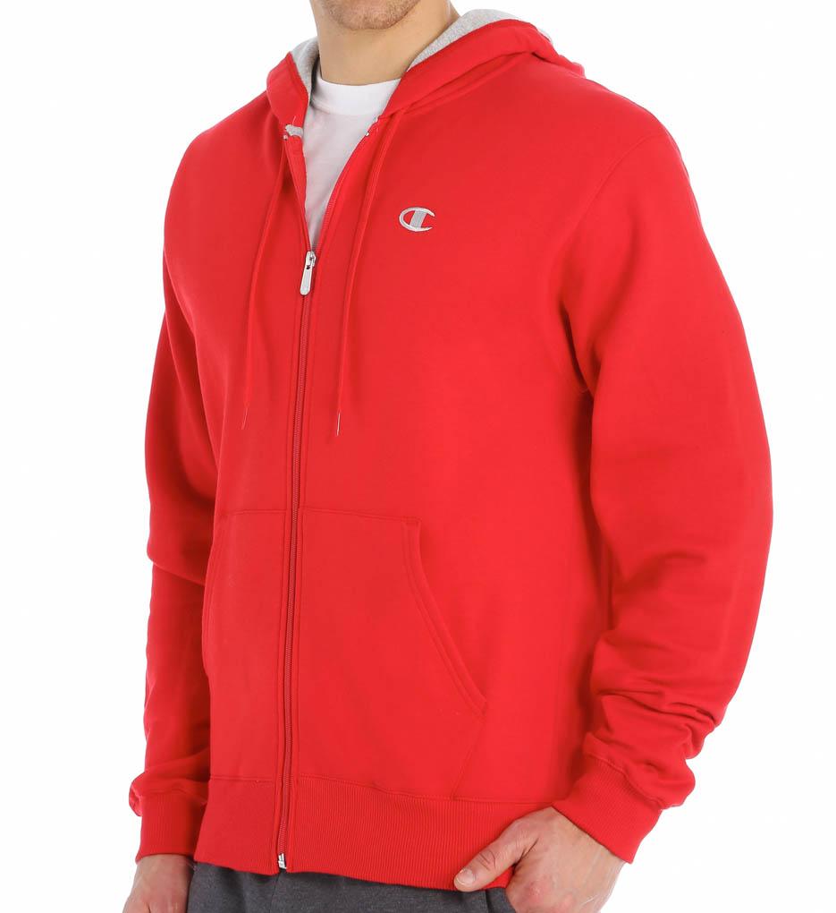 Champion Authentic Eco Fleece Full Zip Hoodie S2468 - Champion Jackets & Sweats
