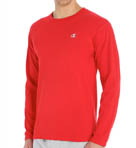 Cotton Jersey Athletic Fit Long Sleeve Tee Image