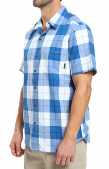 Columbia Thompson Hill Short Sleeve Wide Check Shirt AM1468A