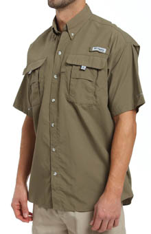 Columbia Bahama II Quick Dry Omni-Shade Short Sleeve Shirt FM7047