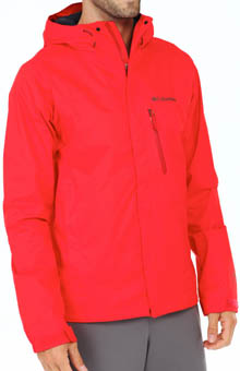 Columbia Hailtech II Omni-tech Waterproof/Breathable Jacket WM2156