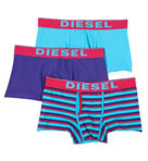 Diesel Divine Boxer Short Trunks with 2 Inch In  - 3 Pack CG36BAFX