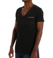 Diesel Jesse Cotton Stretch Deep V-Neck T-Shirt CGB3KAAP