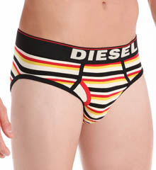 Diesel Blade Stripe Cotton Stretch Brief G3HONAEK