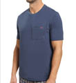 Core Knit Short Sleeve Pocket Crew Image