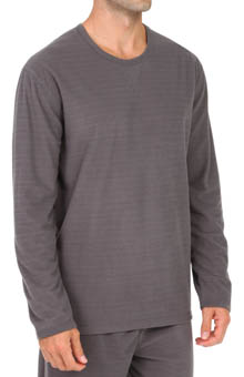 Dockers Waffle Microfleece V Notch Crew T-Shirt D22891
