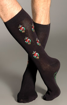 Ed Hardy EH02709 Embroidered All Over Crew Socks at Sears.com