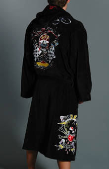 Ed Hardy EH3006TR Love Dies Hard Terry Robe at Sears.com