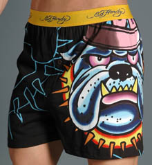 Ed Hardy Bulldog Knit Boxer from intimateguide.com