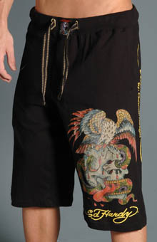 Ed Hardy EH8029JJ Battle Knit Jersey Short at Sears.com