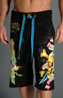 Ed Hardy EH8044JJ Death or Glory Lounge Shorts at Sears.com