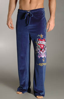 Ed Hardy EH9032VP Love Kills Slowly Velour Pants at Sears.com
