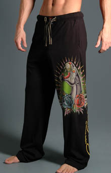Ed Hardy EH9056JP Panther Knit Jersey Pants at Sears.com